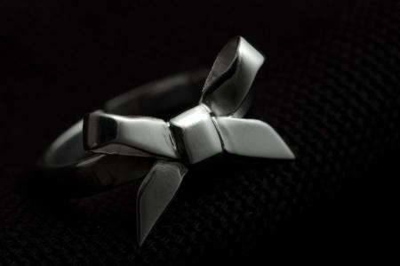 Strikring zilver